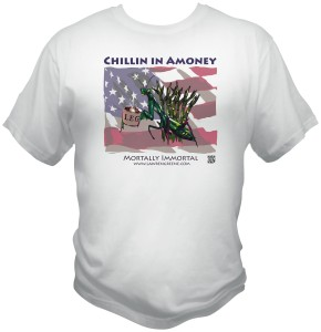 Chillen in Amoney Tshirt – $20.00